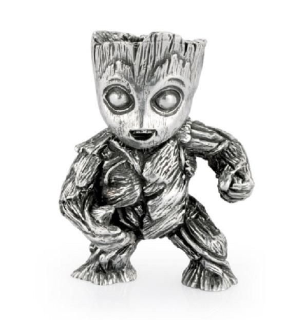 Groot Silver Figurine
