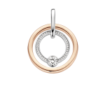 Silver Rose Gold Plated