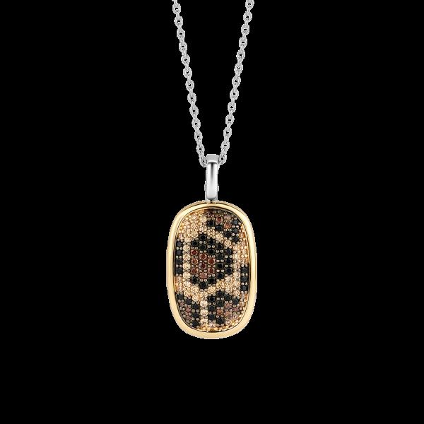Leopard print pendant from Ti Sento