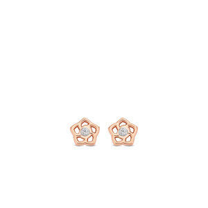 Ti Sento Flower earrings